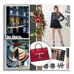 """""""Holiday Style..Bella Eve"""" by melissa-de-souza ❤ liked on Polyvore featuring Madame Milly, Balenciaga, Olsen, NARS Cosmetics and BellaEveBoutique"""
