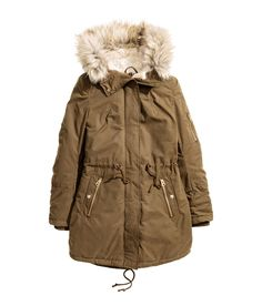 Padded Parka   Warm in H&M