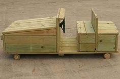 Wooden Playground Vehicles – Car