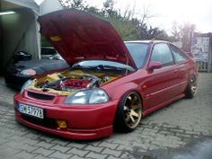 #Clean #JDM #Honda #Civic #Coupe #EJ6 #engineBay