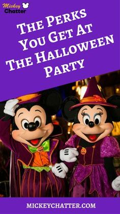 Find out about all the perks you get at Mickeys Not-So-Scary Halloween Party at Magic Kingdom
