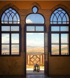 Looking out to the Bekaa region of Lebanon. Asian Continent, Arabic Pattern, Retail Space, Mediterranean Sea, Beirut, Our World, Continents, Old Houses, Middle East
