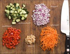 Prep School: Basic Kitchen Terms