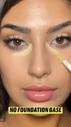 Face Makeup Tips, Makeup Eye Looks, Makeup Videos, Model Makeup Tutorial, Makeup Tutorial Eyeliner, Nose Contouring, Contour Makeup, Eye Makeup Pictures, Best Makeup Artist
