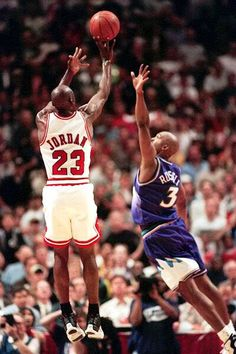 Jordan over Russell......Wet!