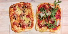 Domácí pizza na plech krok za krokem