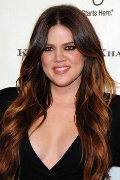 Khloe Kardashian - Las celebrities se rinden a las mechas californianas