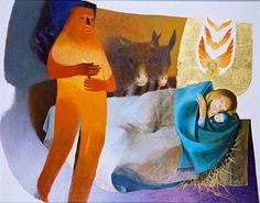 Jean-Marie Pirot (Tremery, 1926) known as Arcabas, French Sacred Artist