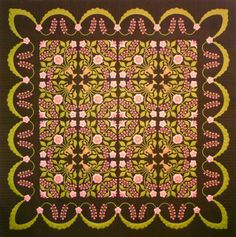 """""""Lily Rosenberry"""" by Sue Garman a different color variation than pattern"""