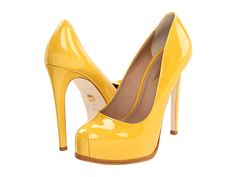 Pour La Victoire Irina Yellow Patent - Zappos.com Free Shipping BOTH Ways