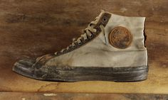 Vintage Sports: One of the earliest All Star Converse sneakers (c.1920)