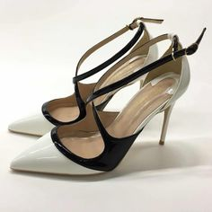 Leather High Heels, Pu Leather, Pump Shoes, Women's Pumps, Ladies Pumps, Free Shipping, Lady, Stuff To Buy, Court Shoes