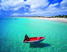 Santa Maria Beach Area - Ilha do Sal, Cabo Verde Places Around The World, Oh The Places You'll Go, Places To Travel, Places To Visit, Around The Worlds, The Great Escape, The Great Outdoors, Santa Maria Beach, Explore Dream Discover