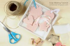 LATIKA: DIY Soap gift - Mothers day gift idea