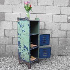 Industrial Old Metal 1940s Original Two Door by MagpiesVintageShop, £395.00