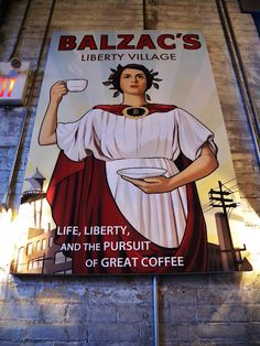 Balzac's Coffee, The Distillery District, Toronto