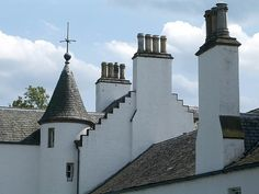 Chimney pots - Scotland.