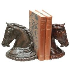 Horse book ends