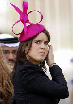HRH Princess Eugenie of York attends Royal Ascot Ladies Day at Ascot Racecourse on June 2010 in Ascot, England. Get premium, high resolution news photos at Getty Images British Hats, British Royals, Prince Andrew, Prince Phillip, Princess Beatrice, Prince And Princess, Princesa Eugenie, Royal Ascot Ladies Day, Sarah Duchess Of York