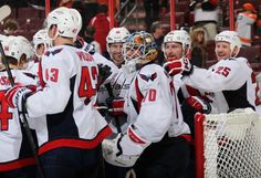 Caps beat Flyers 7-0 | Photo Credit: len redkoles