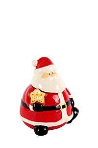 SANTA COOKIE JAR Christmas Items, Christmas Ornaments, Christmas Tables, Cookie Jars, Christmas Traditions, My Dream Home, Beautiful Homes, Santa, Cookies