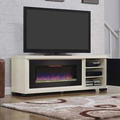 Brickell Fireplace Media Mantel