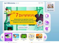 Las 7 Diferencias - un juego de semejanzas y diferencias.