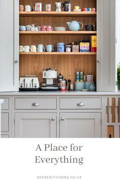 SHERE KITCHENS make beautiful bespoke handmade wood kitchens in Shere Guildford Surrey Kitchen Ideas, Kitchen Design, Five S, Bespoke Kitchens, Can Design, Kitchen Organization, Must Haves, Kitchen Cabinets, Wood