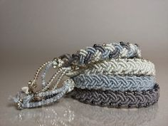Tutorial - macramè friendship bracelets