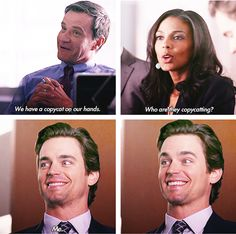 White Collar. This is such a funny episode!