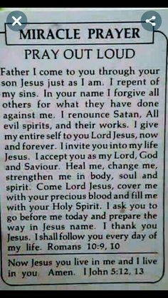 And be baptized in Jesus name. Acts - L D S - And be baptized in Jesus name. Prayer Scriptures, Bible Prayers, Faith Prayer, God Prayer, Bible Verses Quotes, Faith Quotes, Catholic Prayers Daily, Salvation Prayer, Healing Scriptures