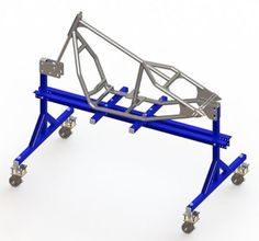 Our rigid bobber frame assembly guide which shows how to build the frame using a frame jig.