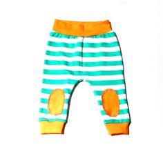 Pantalones de algodón orgánico para bebés de 0 a 3 años, ideales para otoño