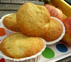 Muffin banane e mele