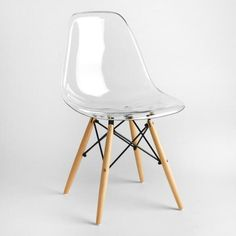 Clear Molded Evie Chairs Set of 2