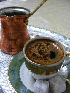 I want a turkish coffee maker.