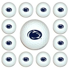 NCAA Penn State University 12-Pack Team Golf Balls by Team Golf. $18.83. Imprinted durable logo. Officially licensed product. Twelve regulation golf balls. When you're among your golf buddies, it's important that they know who you root for. Take your school spirit to the links when you use this 12-pack of NCAA® golf balls from Team Golf®. Designed with the true fan in mind, each ball in the pack is decorated with the full-color team logo.. Save 25%!