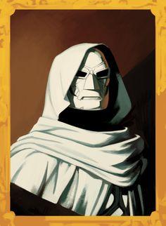 [MOBILE] Doctor Doom white outfit by Kris Anka (from the variant for Star-Lord & Kitty Pryde Marvel Art, Marvel Comics, Comic Books Art, Comic Art, Greatest Villains, Kitty Pryde, Good Doctor, Star Lord, Art Studies