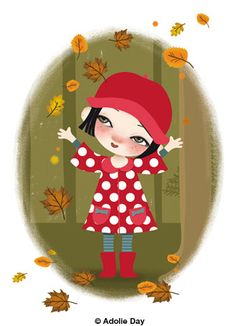 """Lilichou dans la forêt"" - By Adolie DAY"