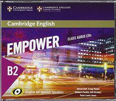 Cambridge English Empower for Spanish Speakers B2 Class Audio CDs (4) #Cambridge #English #Empower #Spanish #Speakers #Class #Audio