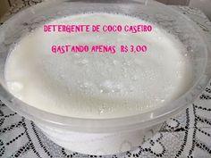 DETERGENTE CASEIRO DE COCO | ATÉ 10 LITROS POR MENOS DE R$ 7,50 - NINGUÉM TE CONTOU - YouTube