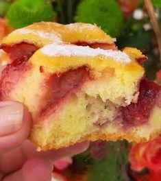 Prajitura cu iaurt si capsuni - Bunătăți din bucătăria Gicuței Cheesecake, Cheesecakes, Cherry Cheesecake Shooters