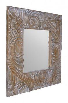 Lustro Athina  Urokliwe lustro w przecieranej, bielonej ramie jak w stylu prowansalskim sprawia, że Athina lustro niesamowicie pasuje do przedpokoju, salonu lub do łazienki w Prowansji. Lustro będzie robić duże wrażenie w jasnych wnętrzach.Bardzo modne lustro w ostatnim czasie, magazyny designerskie w Europie rozpisują się i doceniają Prowansję jako styl, który wrócił i jest coraz bardziej uznawany. Hobbies, Mirror, Crafts, Furniture, Home Decor, Manualidades, Handmade Crafts, Interior Design, Diy Crafts