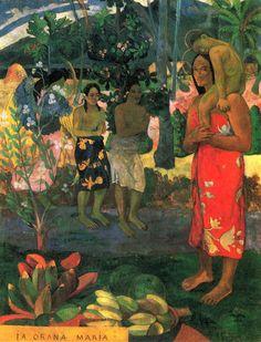 [Paul Gaugin] La Orana Maria, 1891