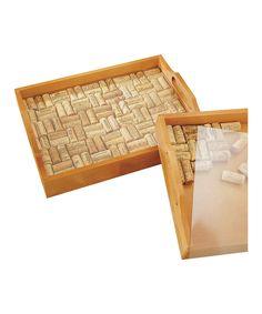 DIY - Wine cork tray insert