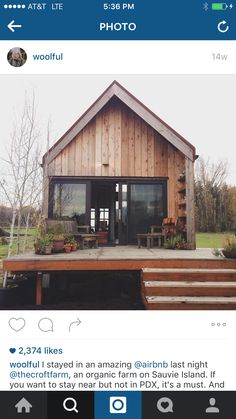 AirBnB recommendation in PDX from Woolful