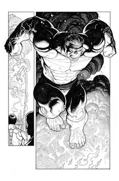 Totally Awesome Hulk #1, Page 17 Comic Art by Frank Cho