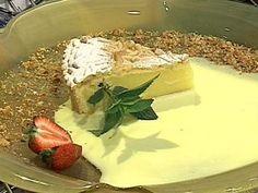 Torta de almendras y piñones| Donato de Santis