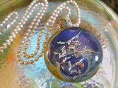 Mythical Moon - One of a kind, handmade by Amy Larcombe of Eighth Planet Glass-- On Etsy