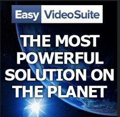 EasyVideoSuite is the very best video marketing platform available  Get the # 1 Video Marketing Software http://affiliatenewbies101.com/EasyVideoSuite
